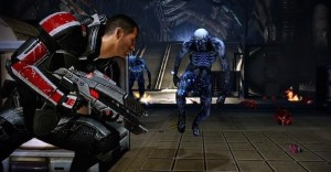 Mass Effect 2 Screen